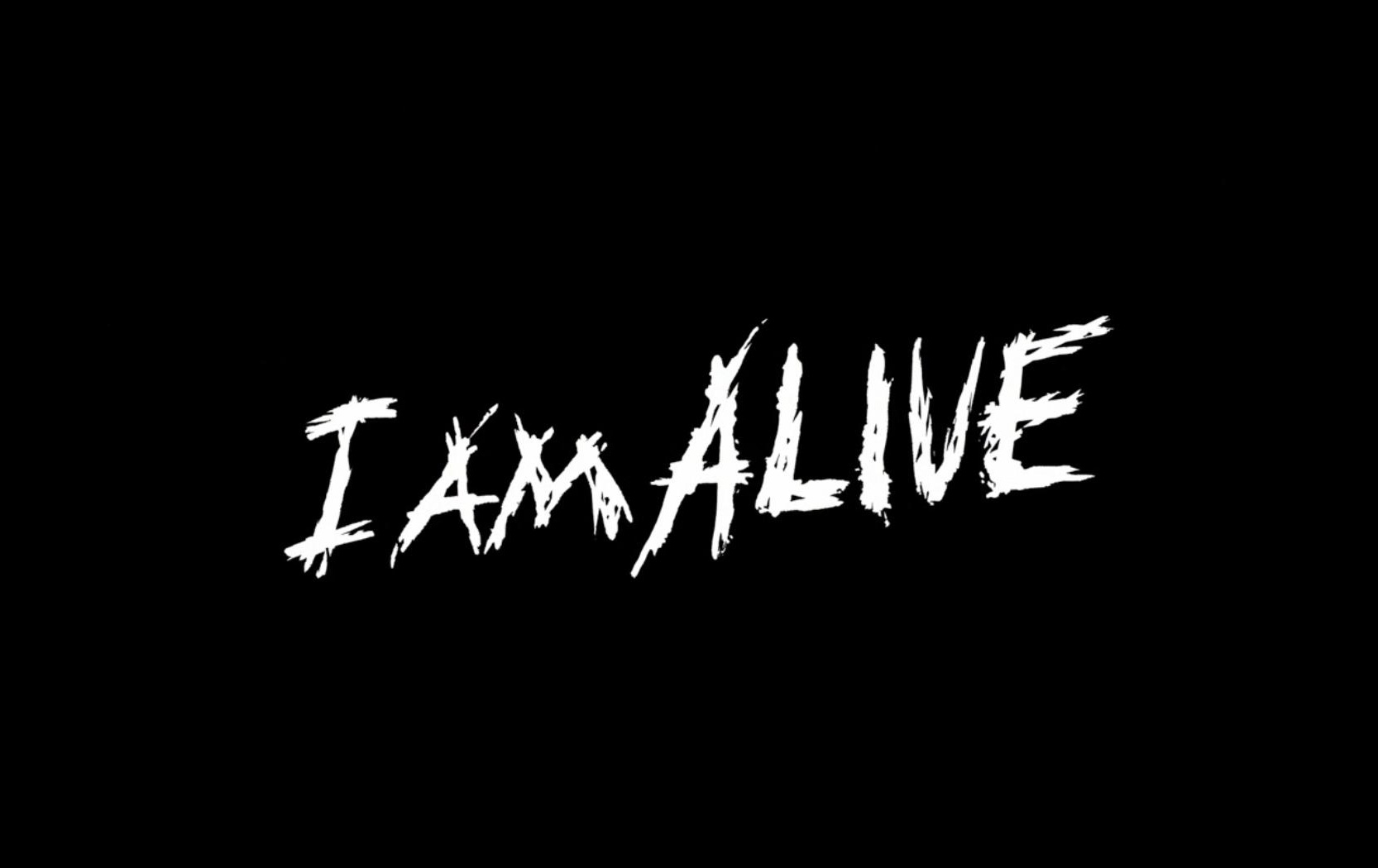 I Am Alive Logo Wallpaper 1666x1050