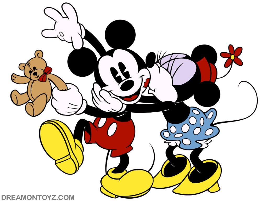 1024x768px Free Mickey And Minnie Wallpaper Wallpapersafari