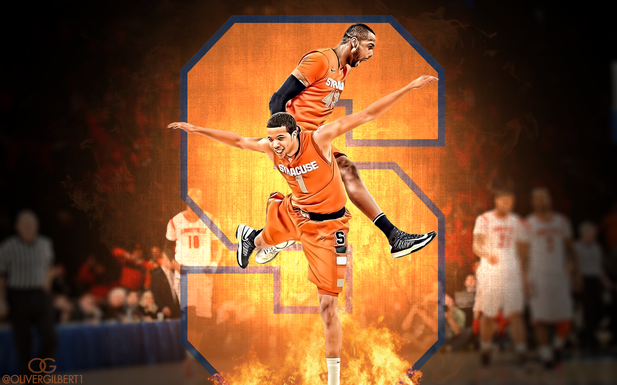 Syracuse Basketball Wallpaper March Madness by Hecziaa 2048x1280