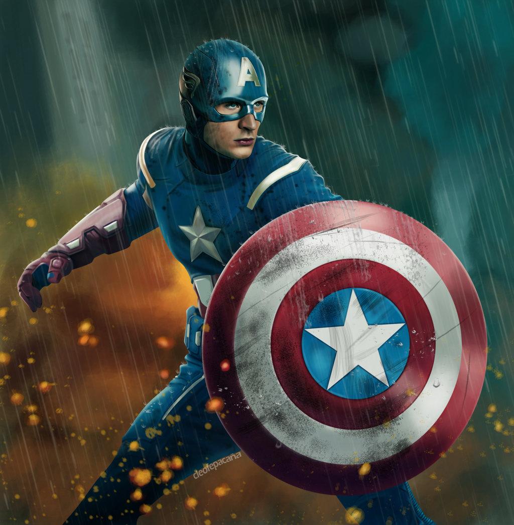 Captain America Wallpaper HD - WallpaperSafari