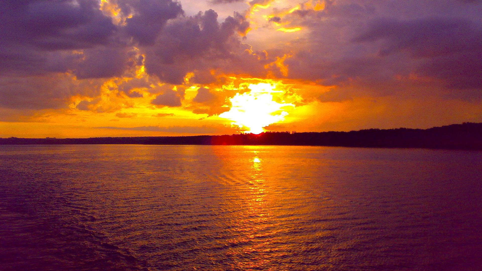 Ocean Sunset wallpaper 223911 1920x1080