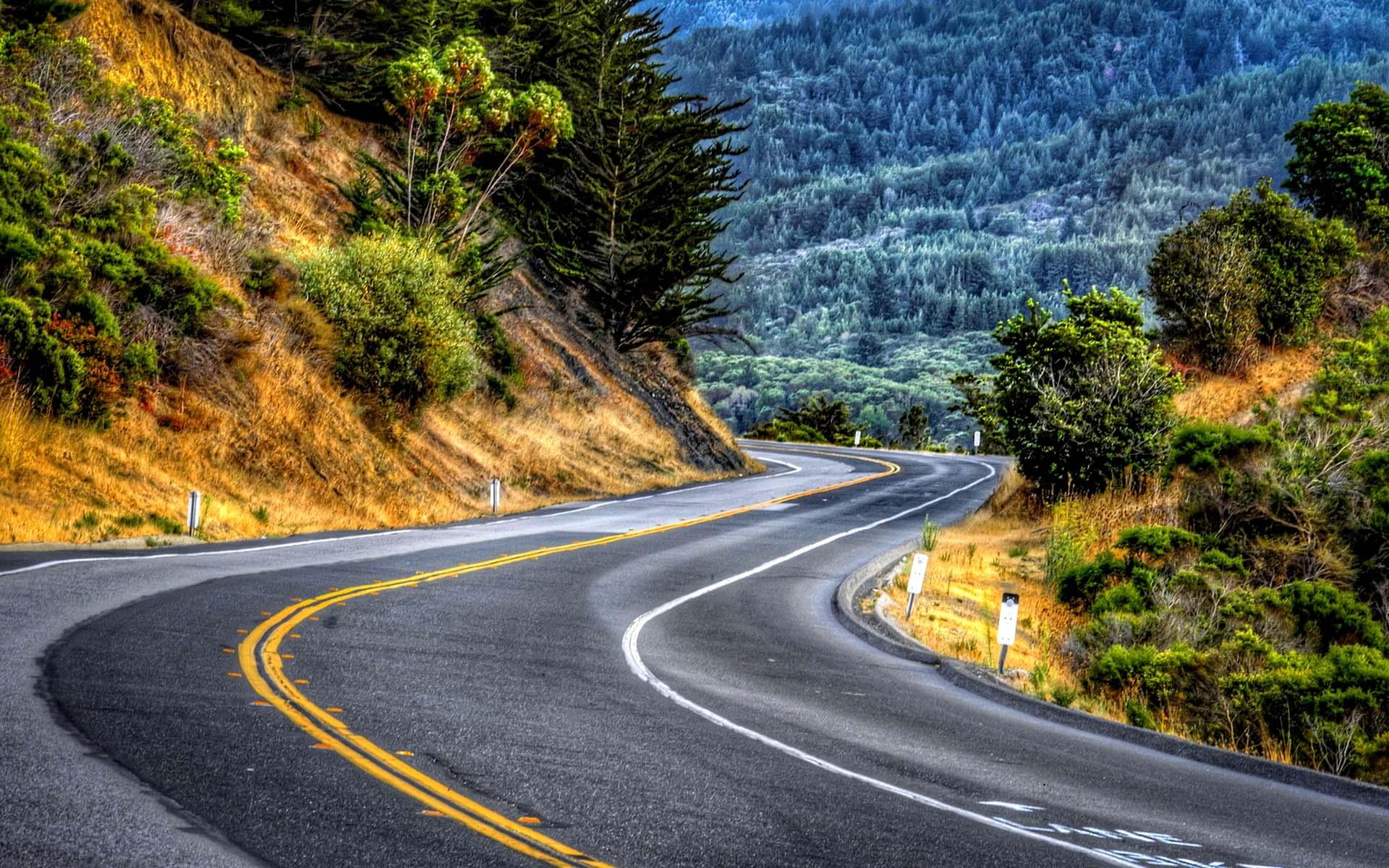 HD Road Wallpaper