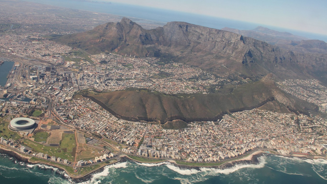 Cape Town South Africa HD Wallpapers Mac HiRes Wallpaper City 78973 1366x768
