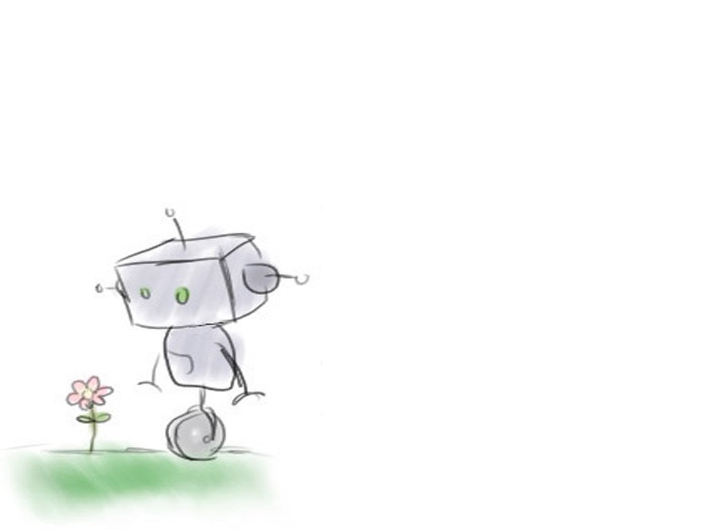 Cute Robot Wallpaper - WallpaperSafari