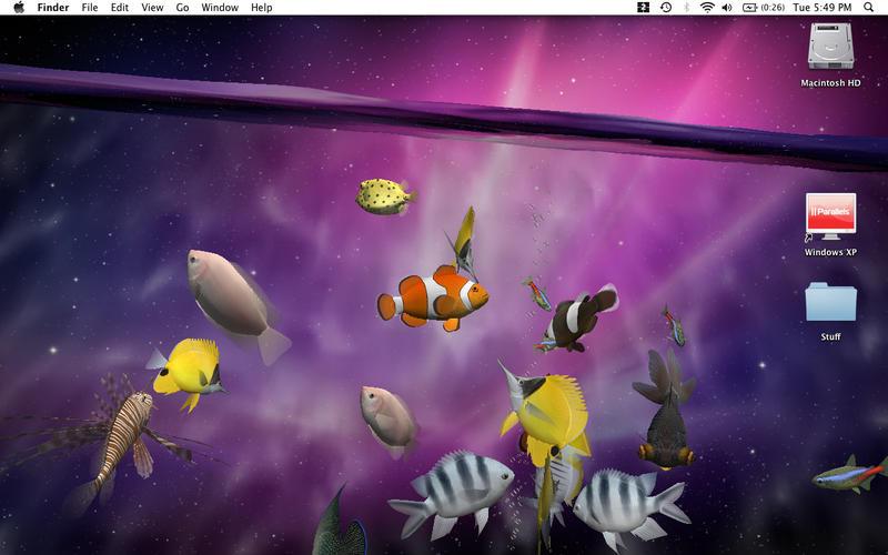 Desktop Aquarium 3D LIVE Wallpaper ScreenSaver TopAppsToday 800x500