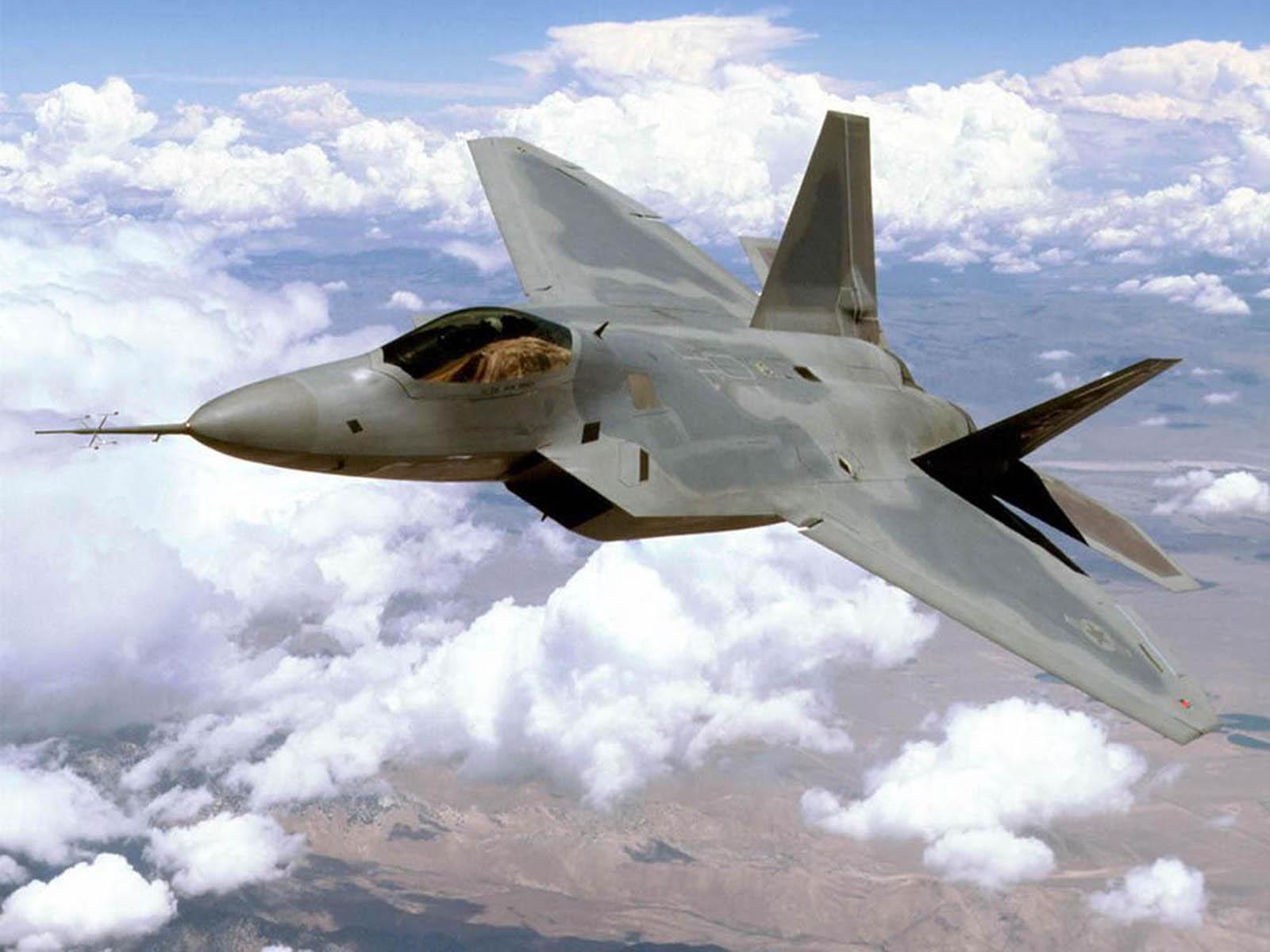 22 Raptor Military Jet Fighter Wallpaperswallpapers screensavers 1600x1200