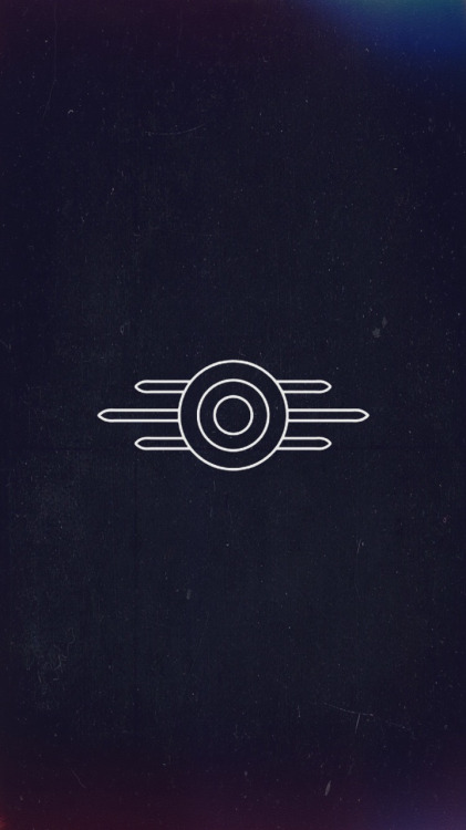made a quick vault tec iphone wallpaper for all of you dwellers out 421x750