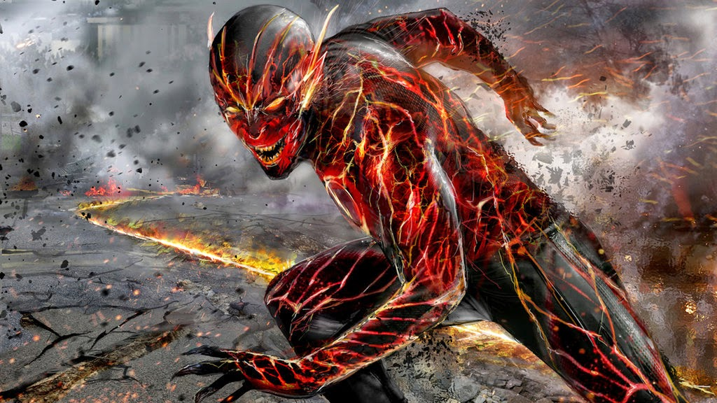 and Action Reverse Flash Captain Cold The Flash PromoConcept Art 1024x576
