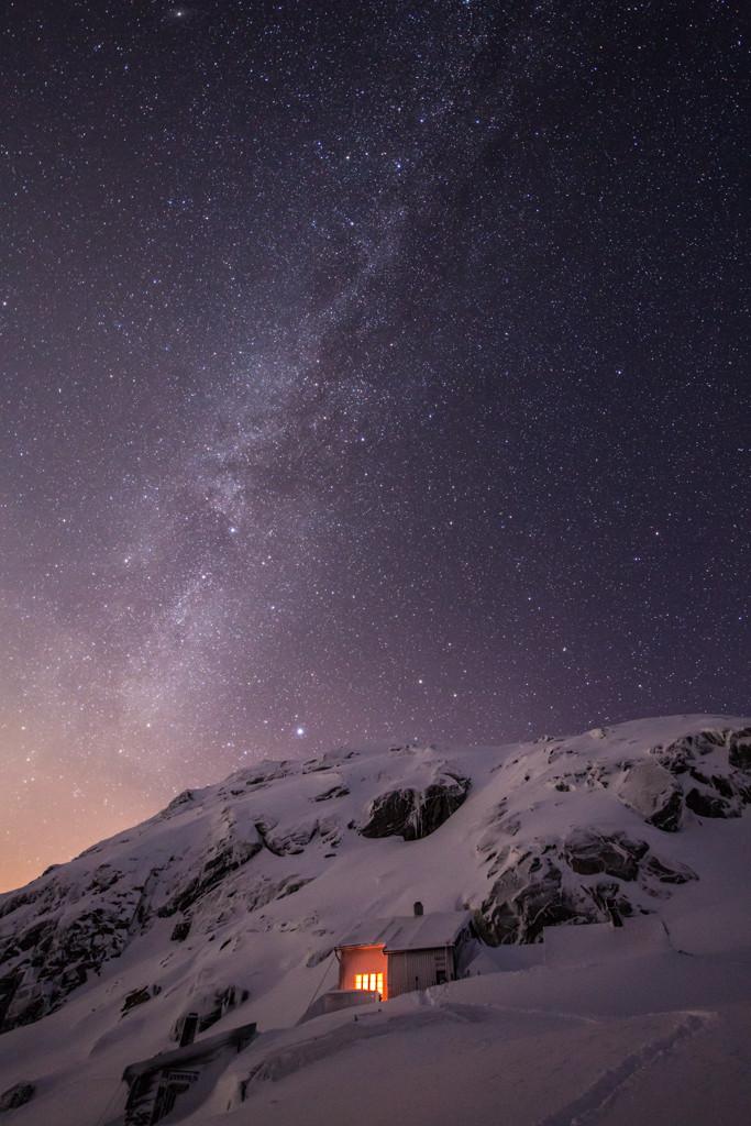 IOS 8 Default Wallpaper   The Milky Way Above Demmevass   Espen 683x1024
