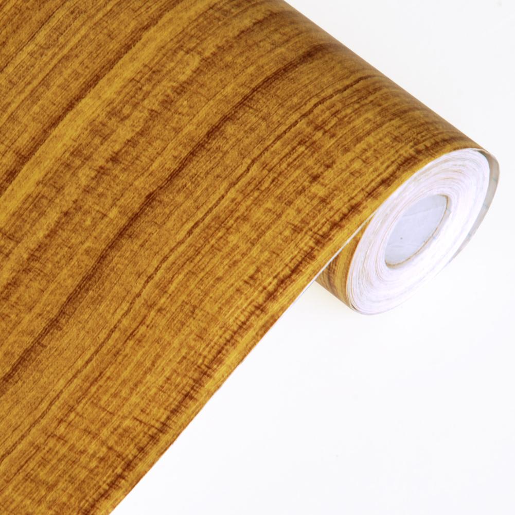 Retro Wood Grain   Self Adhesive Wallpaper Home Decor Roll 1001x1001