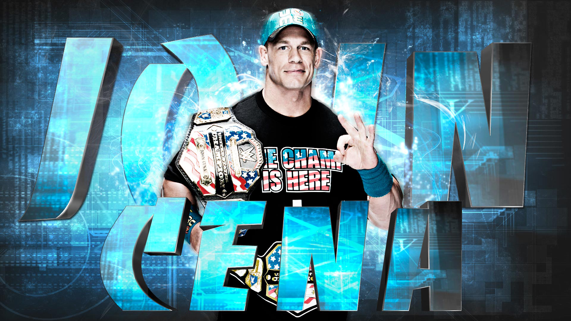 John Cena Wallpapers HD 1920x1080
