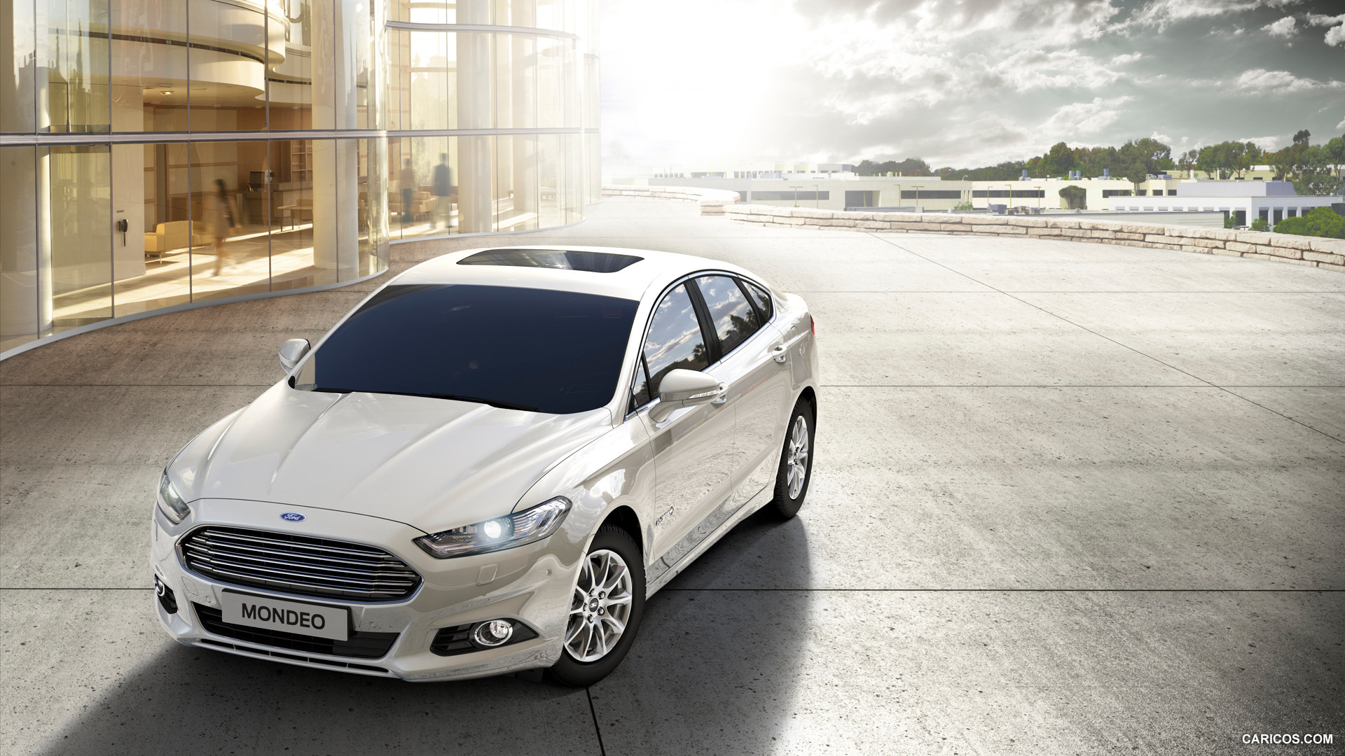 2015 Ford Mondeo Hybrid   Front HD Wallpaper 5 1920x1080