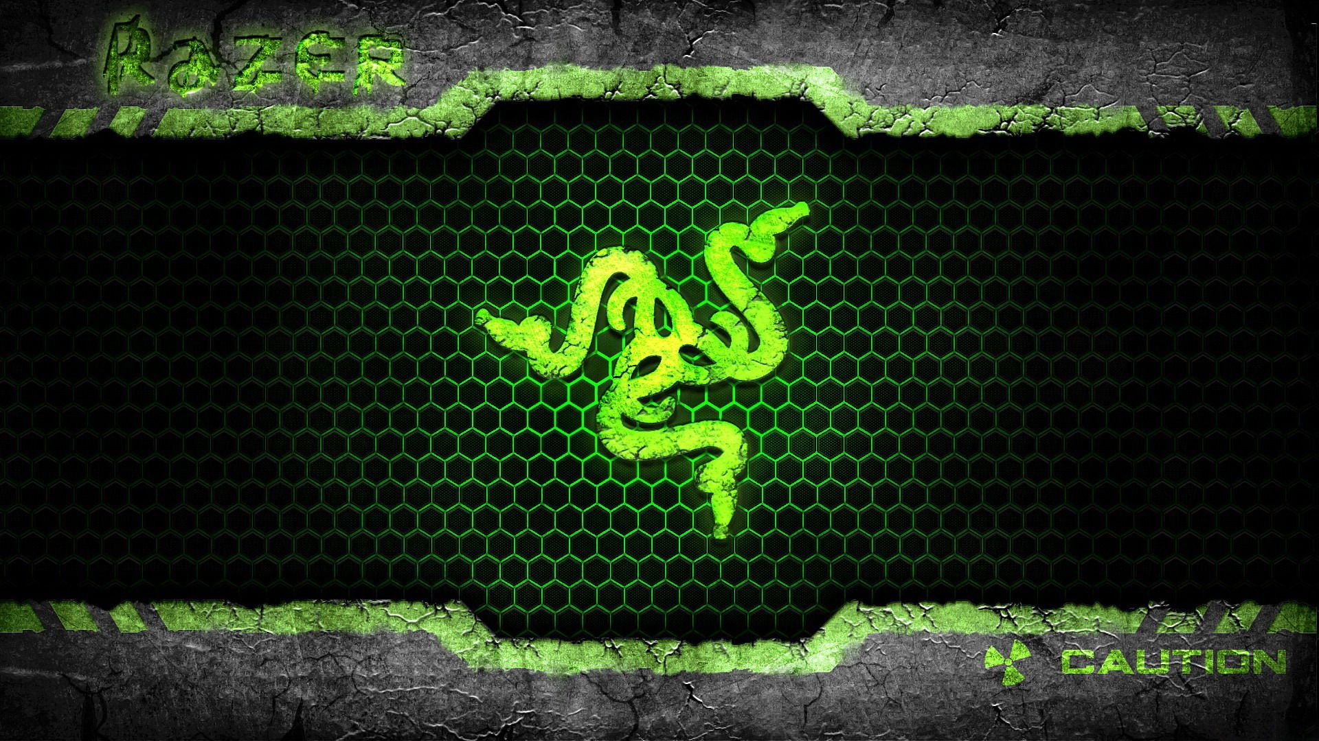 Wallpapers Razer Nature Green Logo ImageBankbiz 1920x1080
