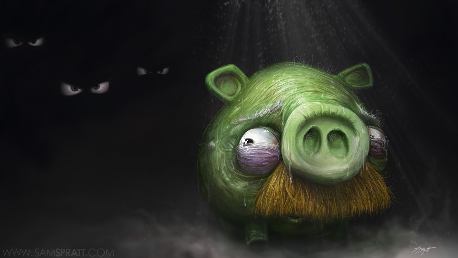 Download the Angry Birds Realism Wallpaper Angry Birds Realism 1920x1080