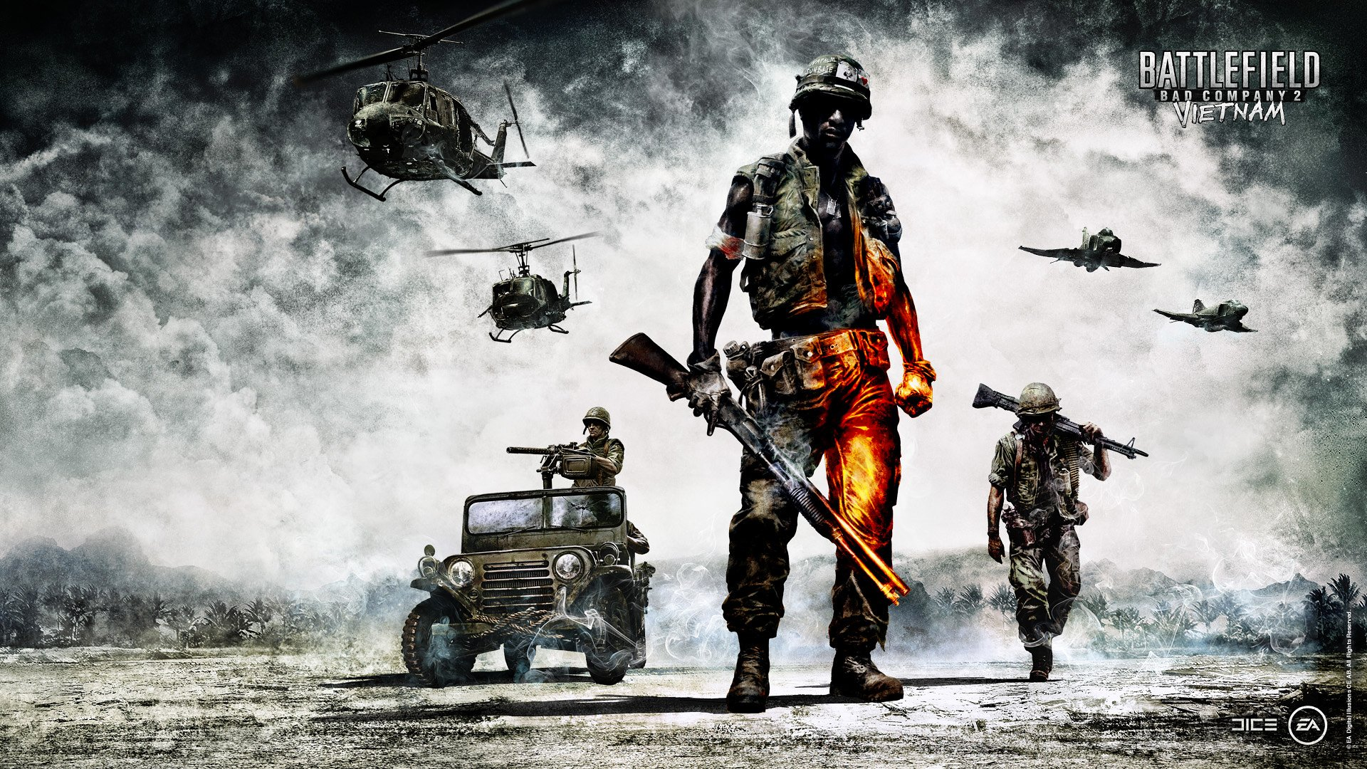 Battlefield Bad Company 2 Vietnam Wallpapers HD Wallpapers 1920x1080