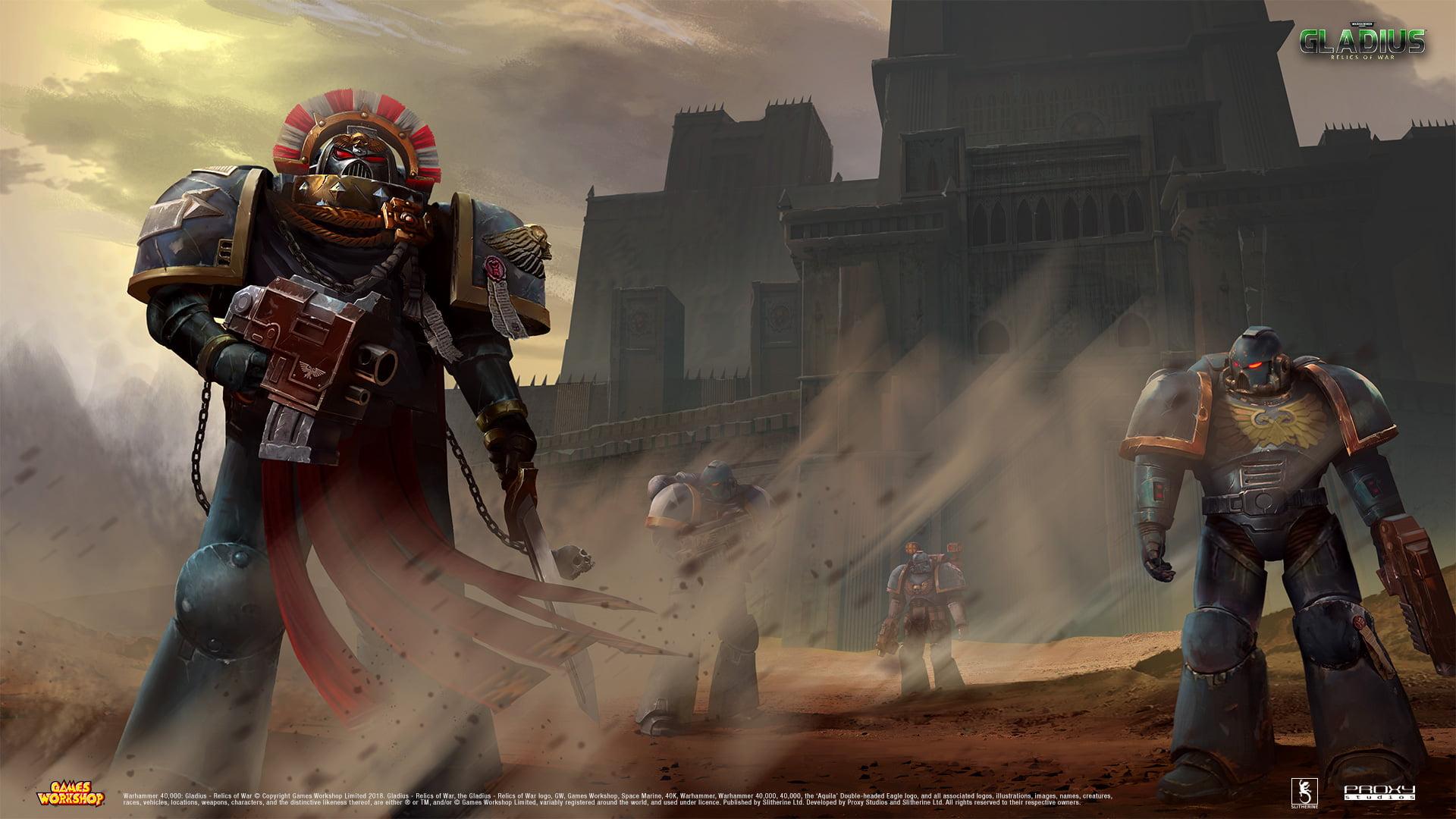 Warhammer 40000 Gladius Space Marines Adeptus Astartes   40k 1920x1080