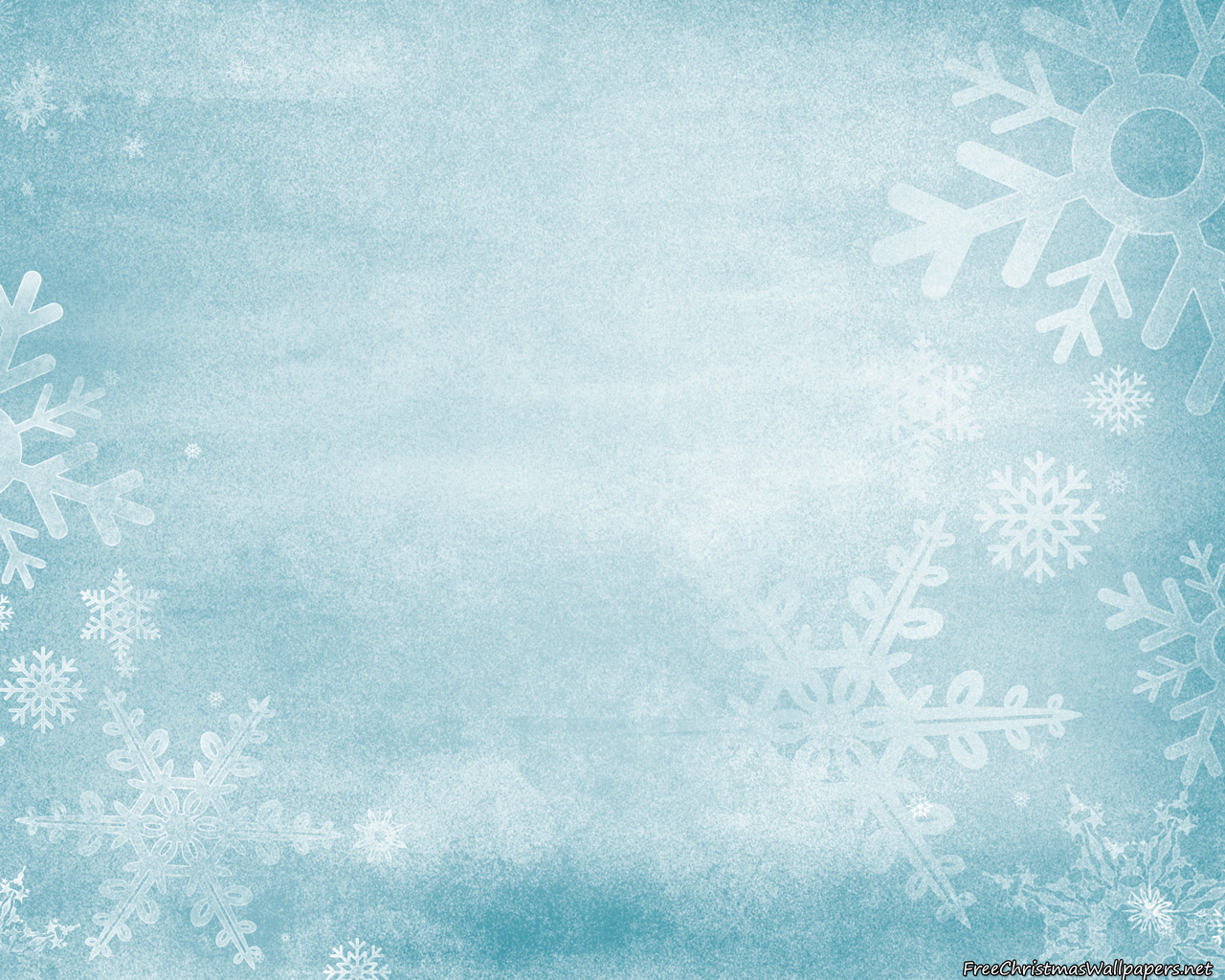 Frozen Christmas Background 1280x1024