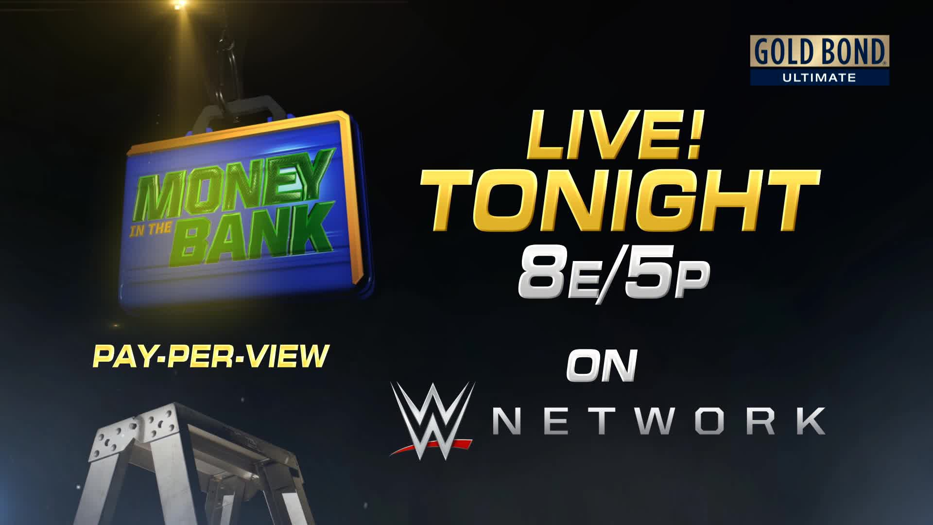 Opportunity is calling with the Money in the Bank Ladder Match 1920x1080