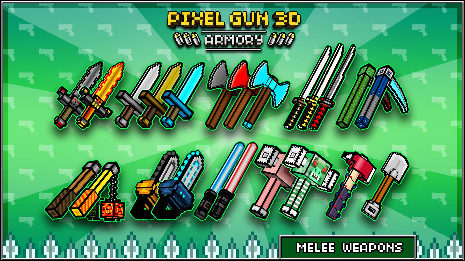 Pixel Gun 3d Wallpaper Wallpapersafari