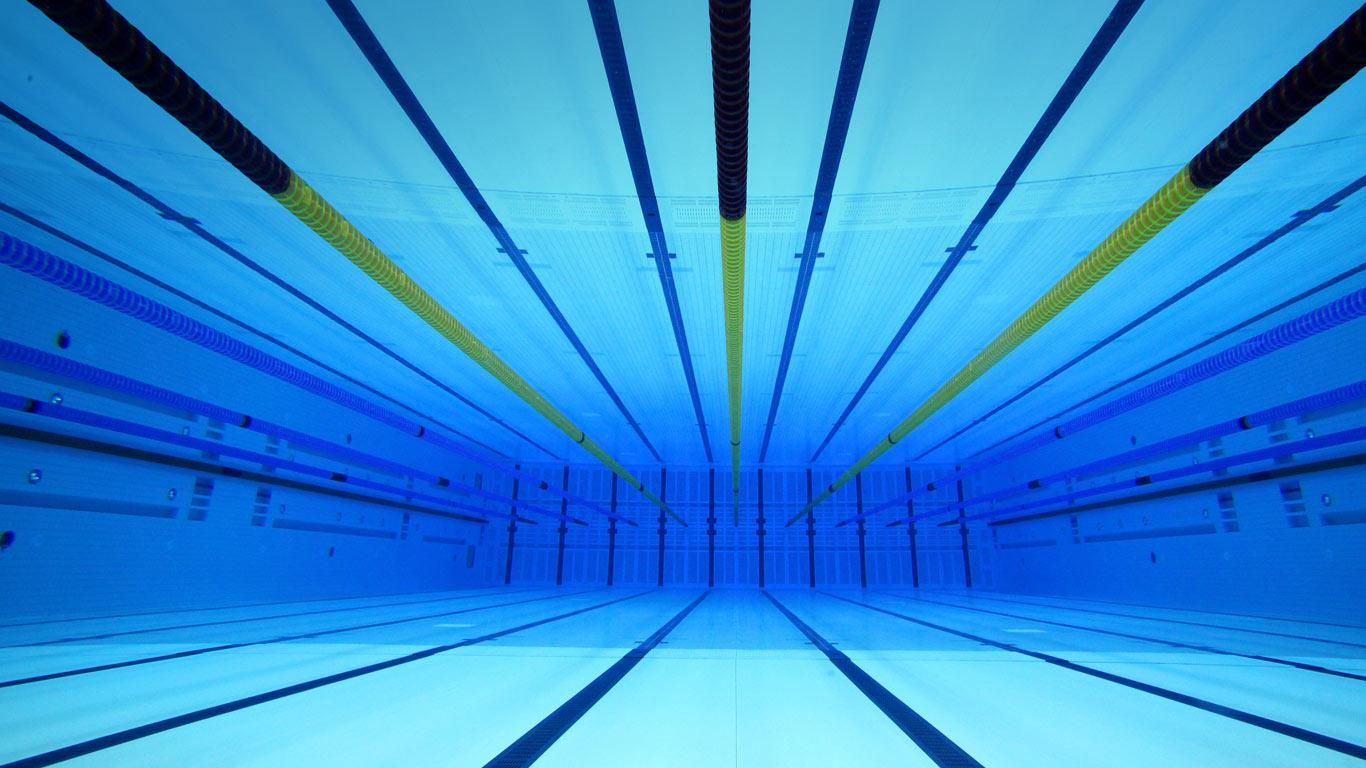 Free Download London Aquatics Centre An Underwater View Of The Olympic Swimming 1366x768 For Your Desktop Mobile Tablet Explore 47 Swim Wallpaper Hd Swimming Wallpaper Usa Swimming Wallpaper Swimming
