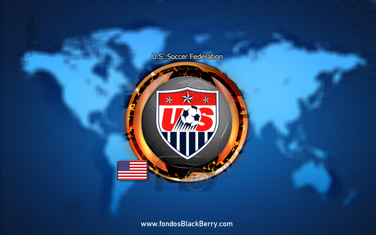 United States Soccer Federation Logo FIFA wallpaper download 1280x800
