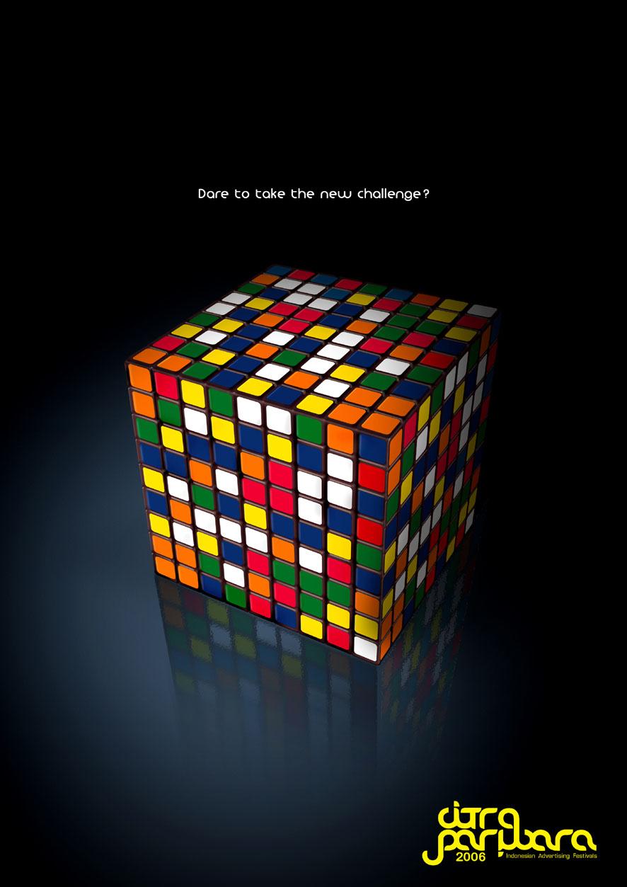 rubiks cube by cecilliahidayat 886x1253