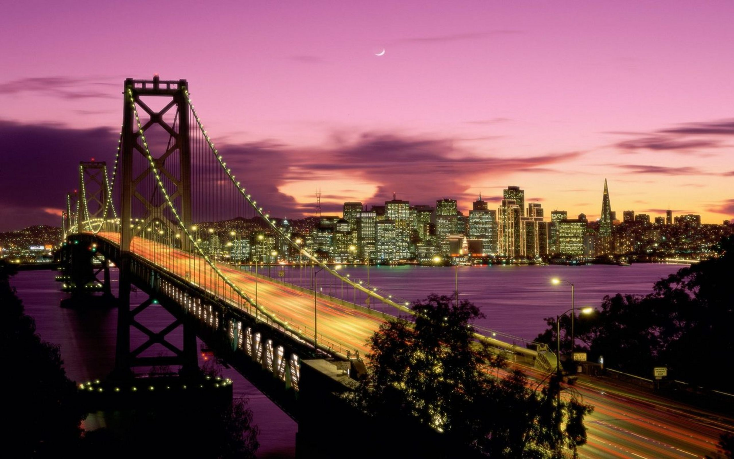 San Francisco Bridge California Wallpapers HD Wallpapers 2560x1600