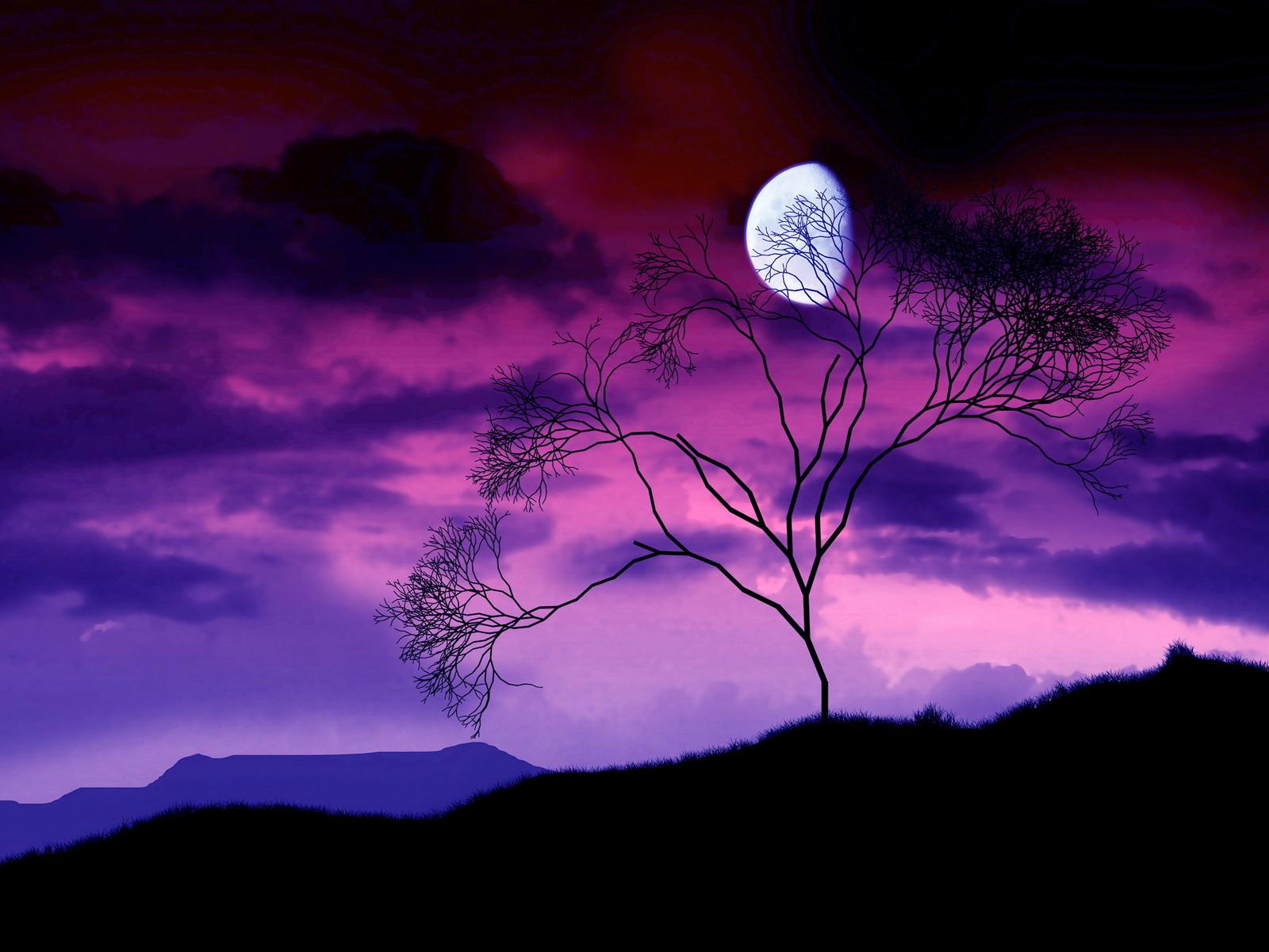 3d nature wallpaper moon - photo #26