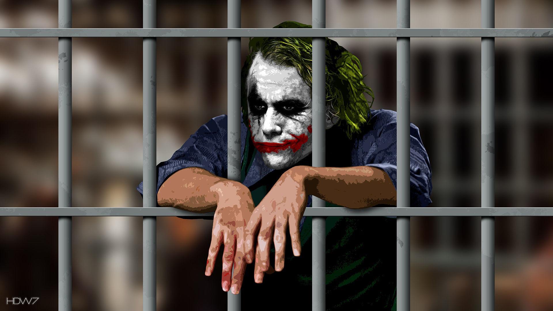 batman the joker is in jail wallpaper HD wallpaper gallery 208 1920x1080