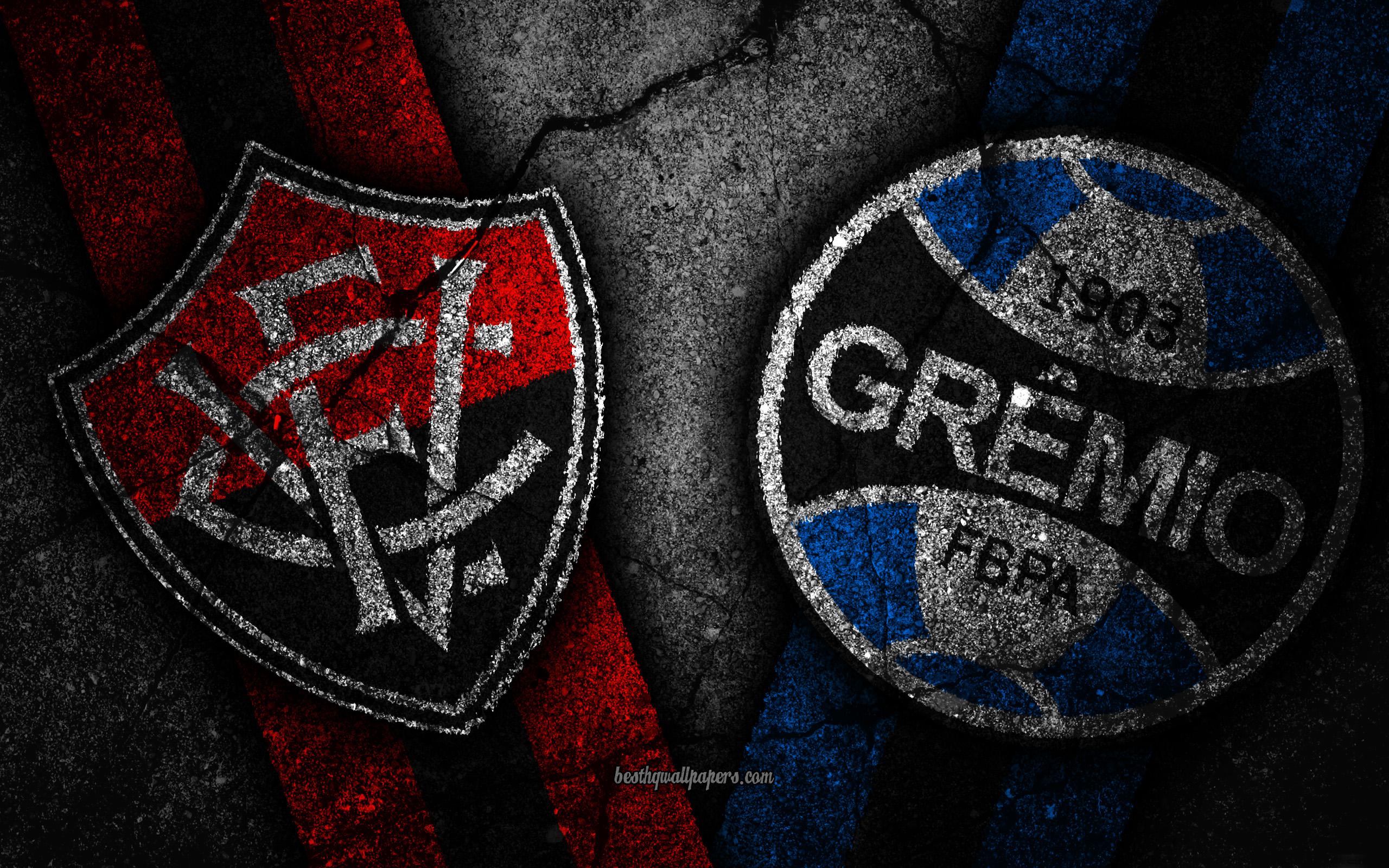 Download wallpapers Vitoria vs Gremio Round 36 Serie A Brazil 2560x1600