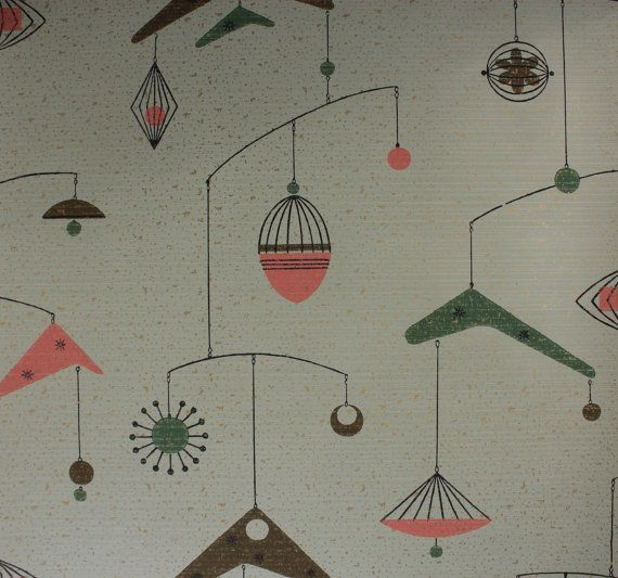 1950s Atomic Wallpaper Wallpapersafari