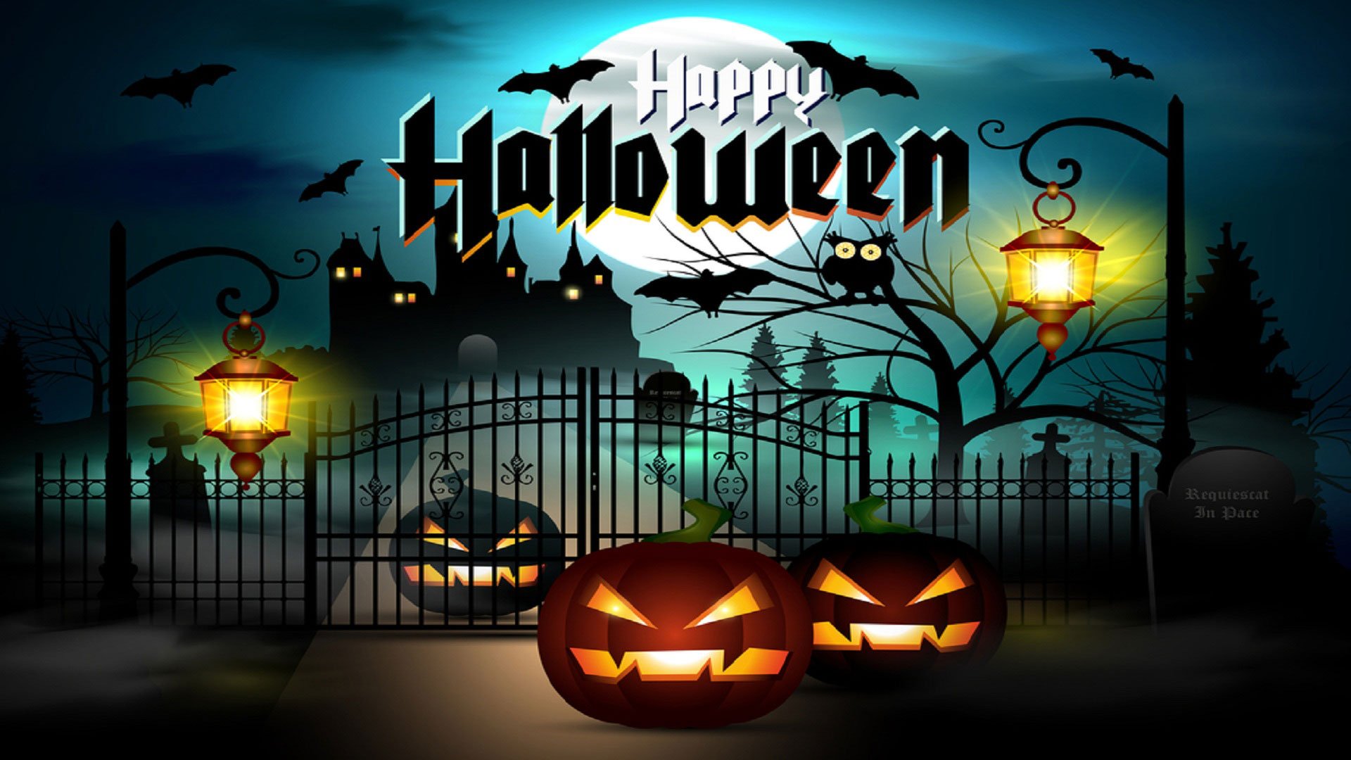25 Scary Halloween 2017 HD Wallpapers Backgrounds 1920x1080