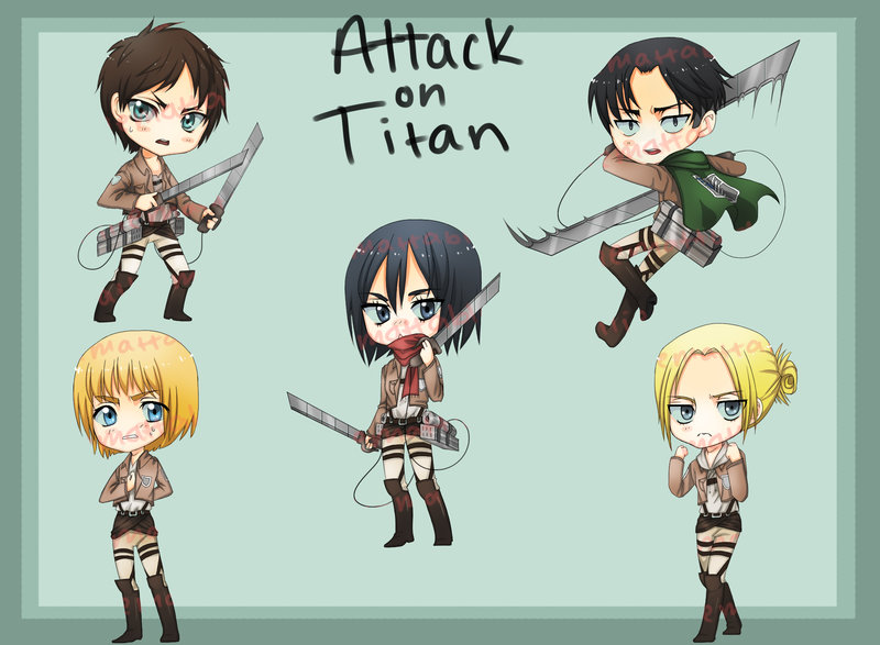 Free Download Attack On Titan Chibi By Alliemattable 800x587 For Your Desktop Mobile Tablet Explore 46 Attack On Titan Chibi Wallpaper Cool Attack On Titan Wallpapers Attack On Titan