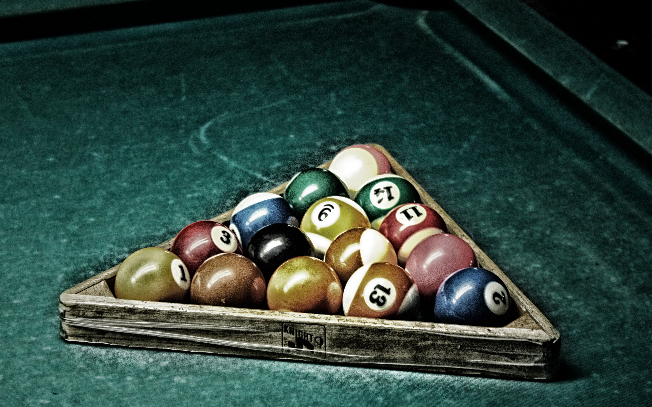 Billiards Wallpaper Art HD Wallpaper Background Images 2560x1600