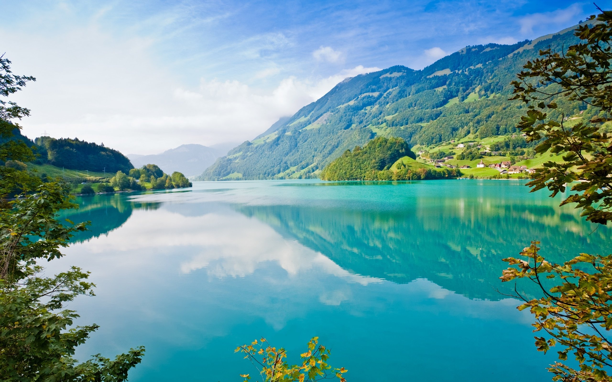 Beautiful Lake 4K Ultra HD wallpaper 4k WallpaperNet 2560x1600