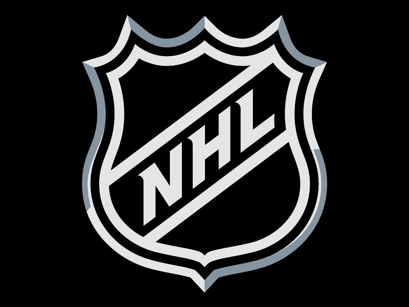 Download wallpaper NHL logo wallpaper download 1365x1024