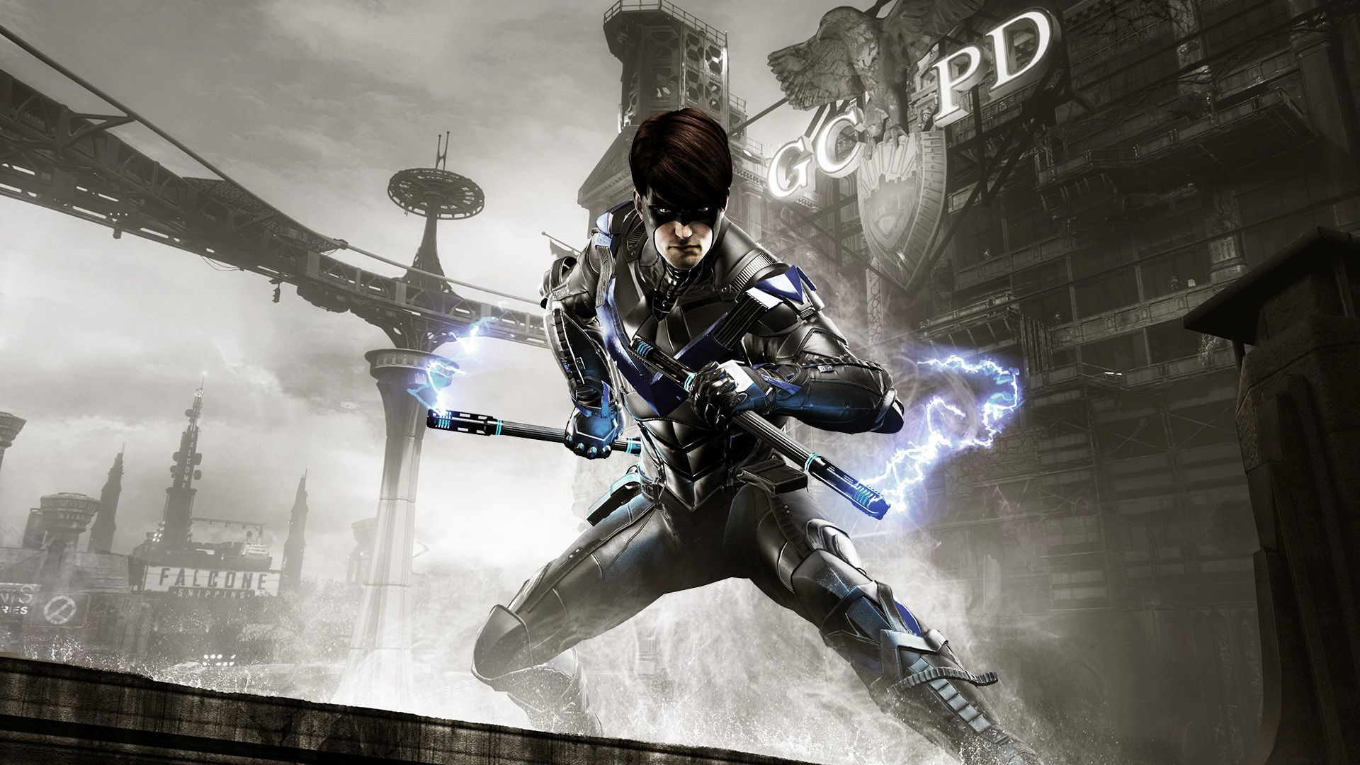 Batman Arkham Knight Nightwing Wallpapers HD Wallpapers 1920x1080