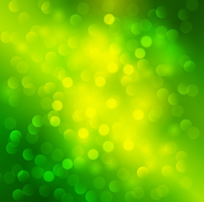 Name Abstract Green Light Bokeh Background Vector Graphic 699x690