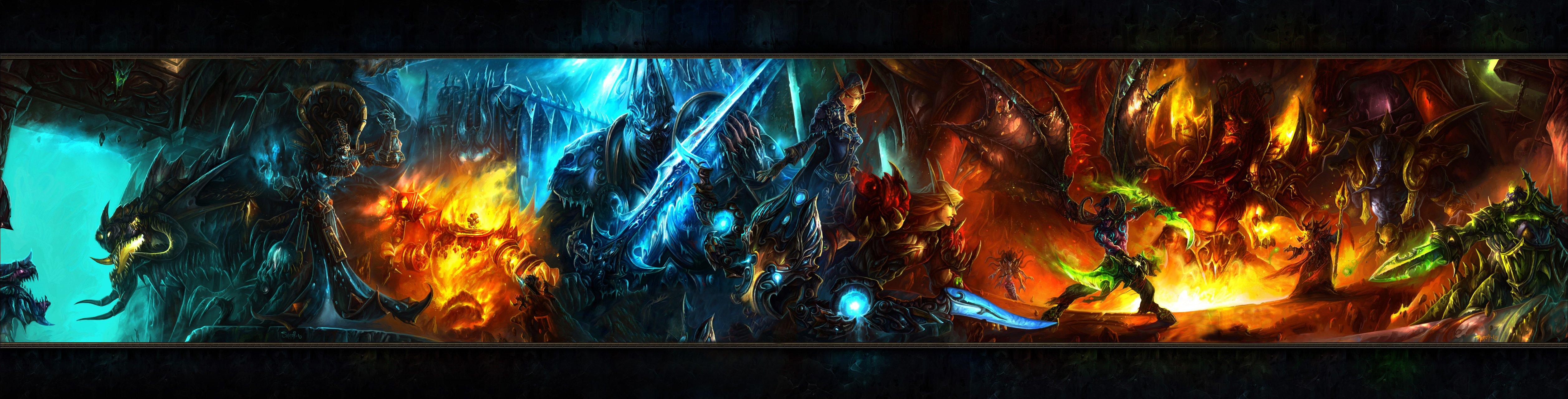Video Game Dual Monitor Wallpaper - WallpaperSafari