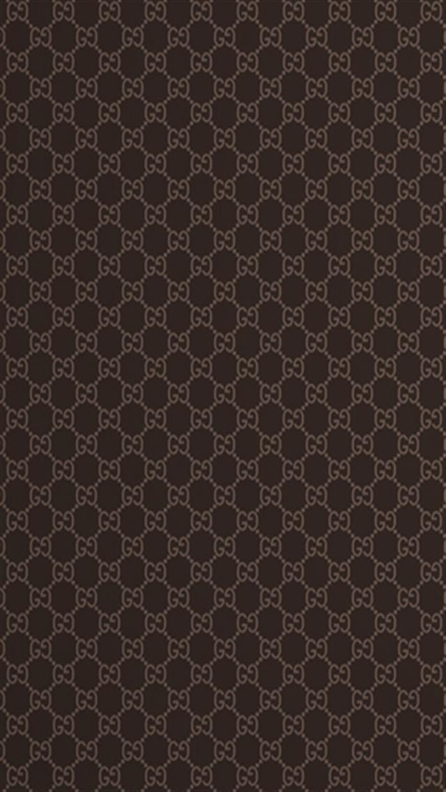 Gucci Pattern LOGO iPhone Wallpapers iPhone 5s4s3G Wallpapers 640x1136
