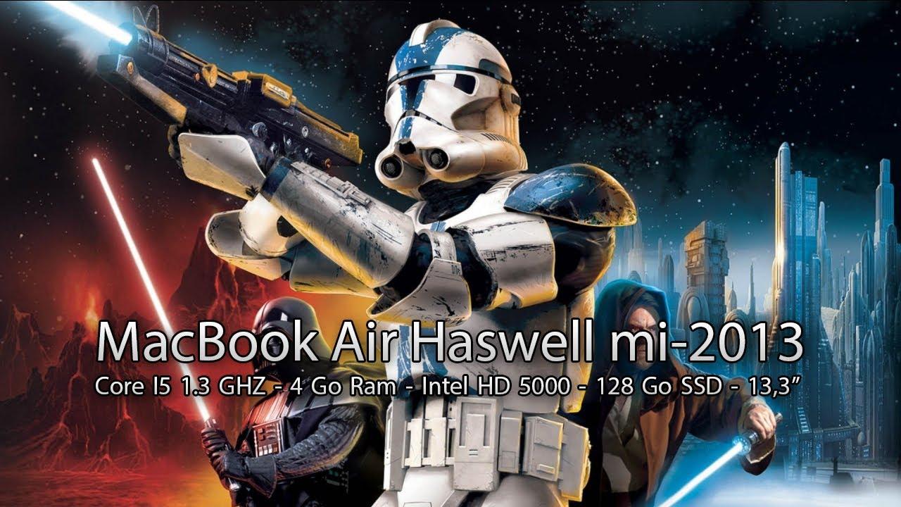 Test de perf Star Wars Battlefront II   MacBook Air Haswell Core 1280x720