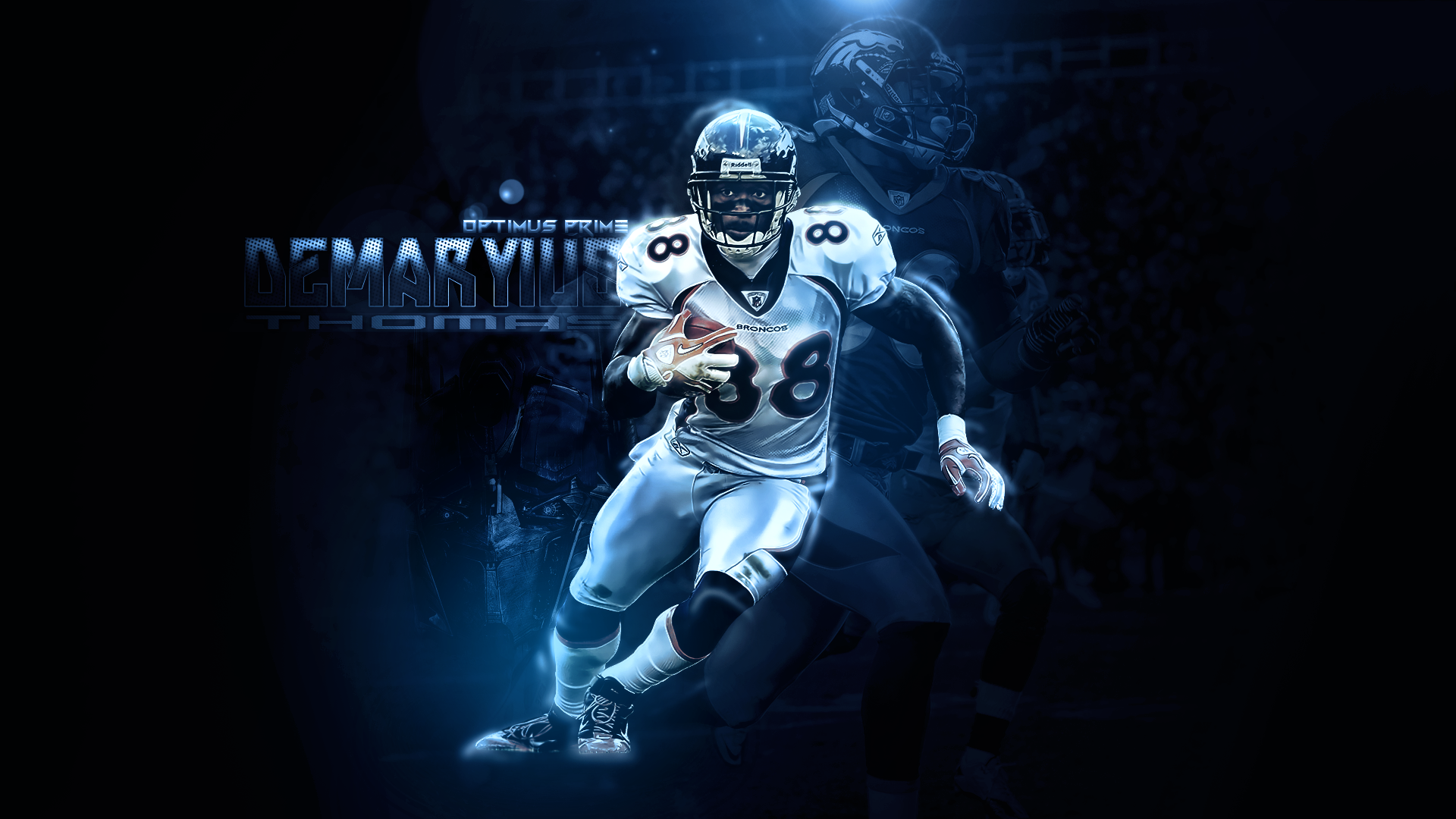 Denver Broncos Demaryius Thomas Wallpaper Images Pictures   Becuo 1920x1080