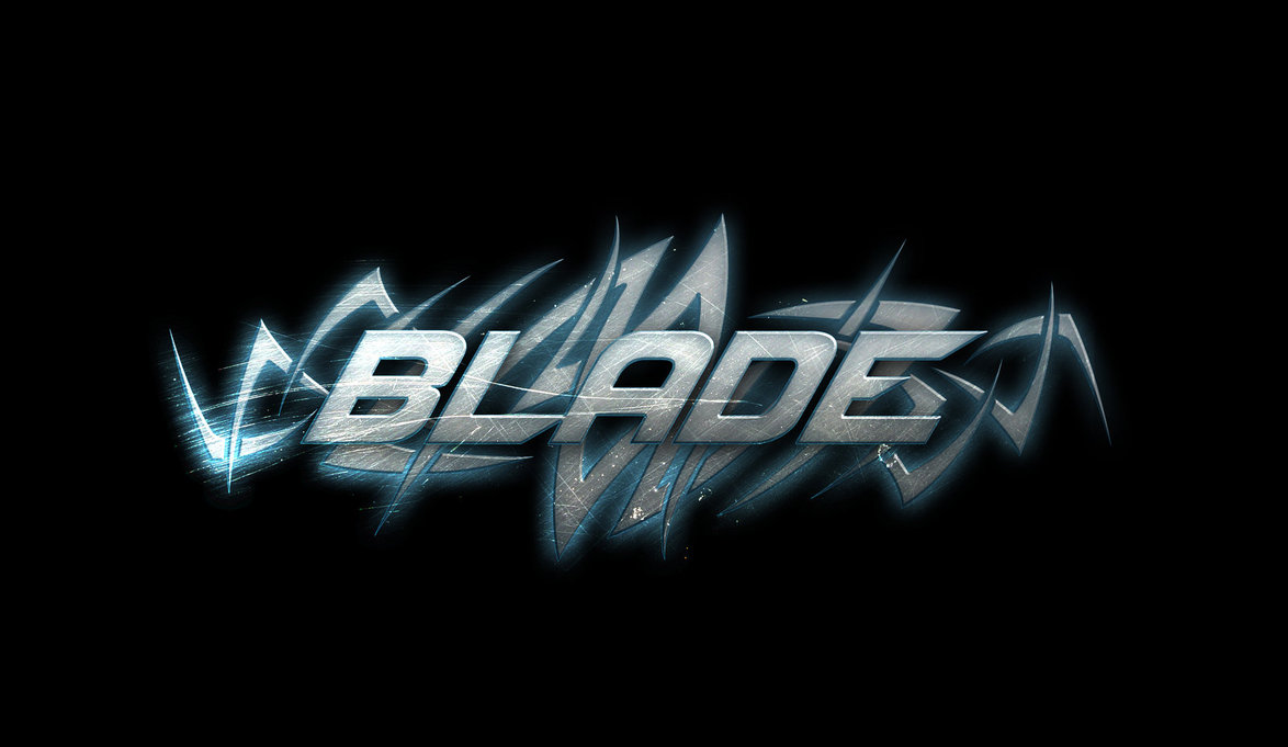 Blade Wallpaper Blade   text wallpaper by 1174x681