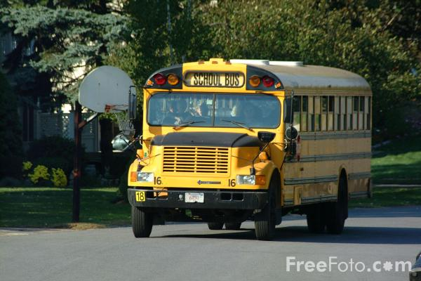 Yellow School Bus pictures use image 2030 02 17 by FreeFotocom 600x400