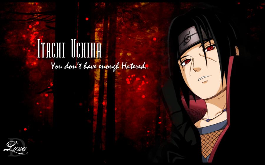 Itachi Uchiha by LuniKat 900x563