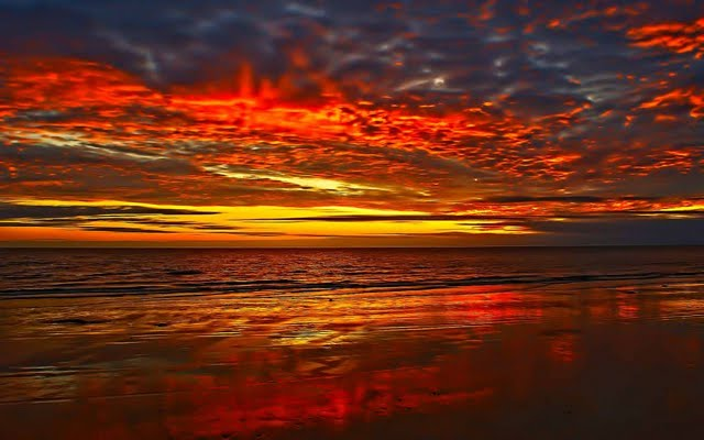 Beautiful Sunset Wallpaper Walltor 640x400