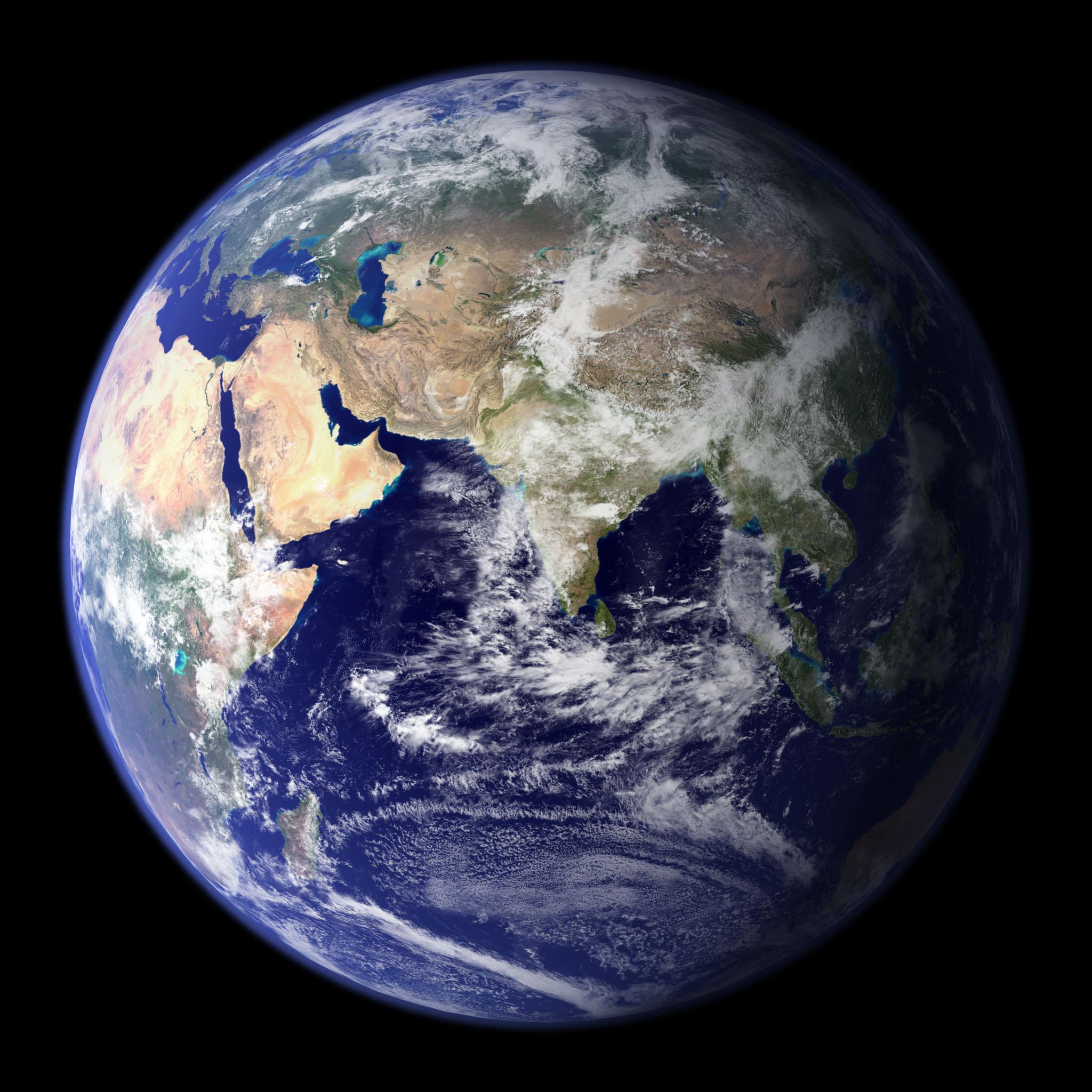 NASA Visible Earth The Blue Marble 2048x2048