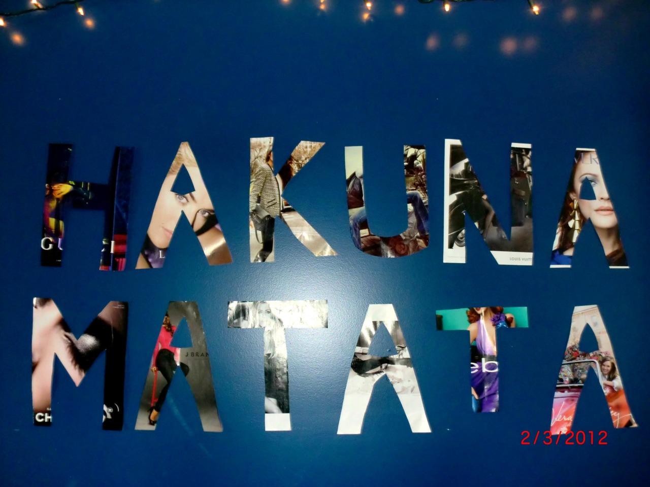 Hakuna Matata Wallpaper - WallpaperSafari