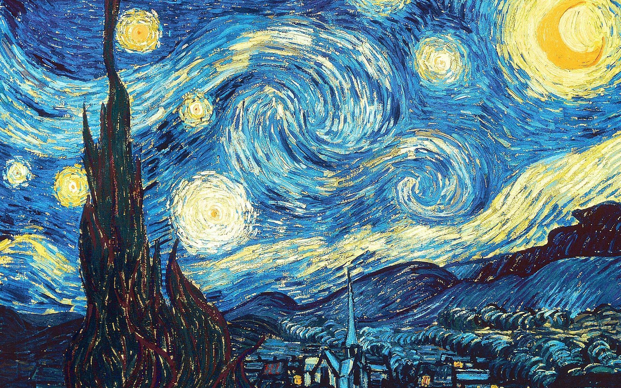 Vincent Van Gogh Wallpapers 2048x1280