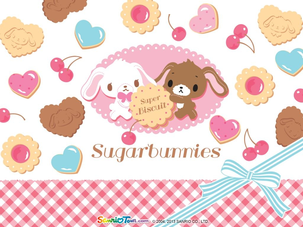 Wallpapers Sugar Bunnies vol 01   Le Coin Kawaii 1024x768